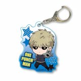 One Punch Man Genos Hero Ver. Acrylic Key Chain