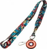 Marvel Captain America Lanyard Key Chain