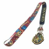 Harry Potter Red Hogwarts Lanyard Key Chain