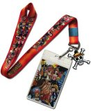 One Piece Group Chibi Lanyard Key Chain