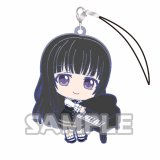 Bang Dream Shirokane Rinko Holding Item Rubber Phone Strap