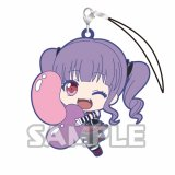 Bang Dream Udagawa Ako Holding Item Glitter Ver. Rubber Phone Strap