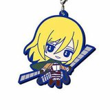 Attack on Titan Krista Rubber Phone Strap