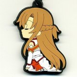 Sword Art Online Asuna Kneeling Rubber Phone Strap