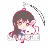 Bang Dream Hanazono Tae Holding Bunny Poppin'Party Phone Strap