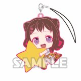 Bang Dream Toyama Kasumi Holding Star Glitter Ver. Poppin'Party Phone Strap