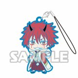 That Time I Got Reincarnated as a Slime Benimaru Capsule Rubber Phone Strap