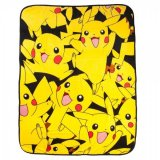Pokemon Pikachu Fleece Throw Blanket