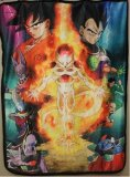 Dragonball Z Resurrection Microfiber Fleece Blanket