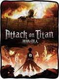 Attack on Titan Key Art Fleece Blanket