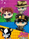 Jojo's Bizarre Adventures Chibi Fleece Throw Blanket