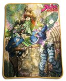 Jojo's Bizarre Adventures Caesar and Joseph Fleece Throw Blanket