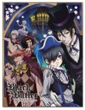 Black Butler Book of Circus Fleece Throw Blanket
