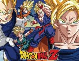 Dragonball Z Super Saiyan Group Fleece Throw Blanket