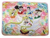 Sailor Moon Sailor Stars Group Fleece Throw Blanket