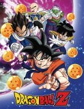 Dragonball Z Group Fleece Throw Blanket