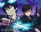 Blue Exorcist Rin and Yukio Microfiber Fleece Throw Blanket