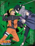 Naruto Shippuden Naruto Vs. Sasuke Microfiber Fleece Throw Blanket