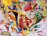 One Piece Action Group Microfiber Fleece Throw Blanket