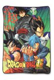 Dragonball Z Super Group Microfiber Fleece Throw Blanket