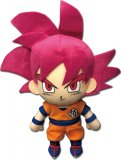 Dragonball Z Super 8'' God Goku Plush Doll
