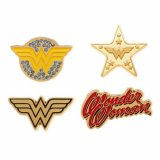 DC Comics Wonder Woman 4 Lapel Pin Set