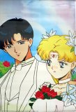 Sailor Moon Endymion and Serenity Wedding Paper Poster