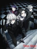 Tokyo Ghoul Group 33'' x 43'' Cloth Poster