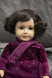 Doll Wig Alice - Chocolate Brown