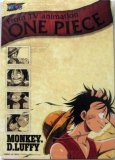 One Piece Mouse Pad Note Pad Luffy