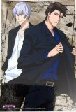 Bleach Gin and Aizen Post Card Sized Sticker
