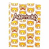 Aggretsuko White Journal Notebook