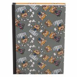 Aggretsuko Gray and Orange Journal Notebook