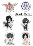 Black Butler SD Puffy Sticker Set