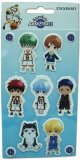 Kuroko's Basketball Puffy Sticker Set
