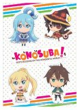 Konosuba SD Group Sticker Set