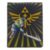 Zelda Gold Princess Logo and Link Bifold Wallet