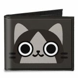Monster Hunter Merarou Canvas Bifold Buckle Down Wallet
