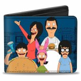 Bob's Burgers Group Buckle Down Bifold Wallet
