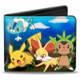 Pokemon X&Y Starters and Bad Guys Buckle Down Bifold Wallet