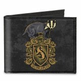 Harry Potter Hufflepuff Canvas Buckle Down Bifold Wallet