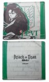 Attack on Titan Levi White and Green Bifold Wallet