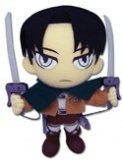 Attack On Titan 8'' Levi Plush