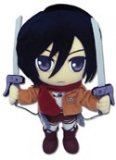 Attack On Titan 8'' Mikasa Plush