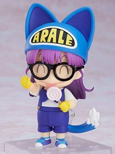 Dr. Slump Arale Norimaki Cat Ears Ver. And Gacchan Nendoroid Action Figure
