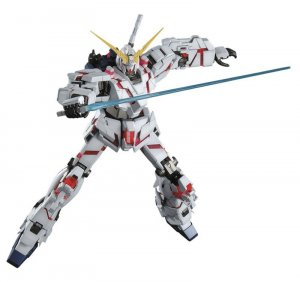 Gundam Unicorn Unicorn Gundam Master Grade MG Model Kit Figure