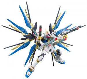 Gundam Seed Destiny Strike Freedom Real Grade RG 1/144 Model Kit Figure