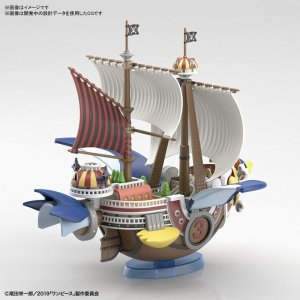 One Piece Thousand Sunny Flying Model Grand Ship Model Kit Figure