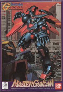 Gundam G Gundam G-07 Master Gundam 1/144 Model Kit Figure