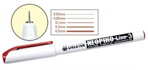 Neopiko-Line-3 Sepia Single Line Pen